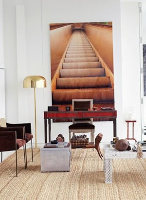 Nate Berkus in his New York City apartment