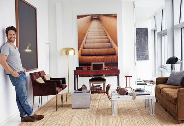 Nate Berkus in his New York City apartment
