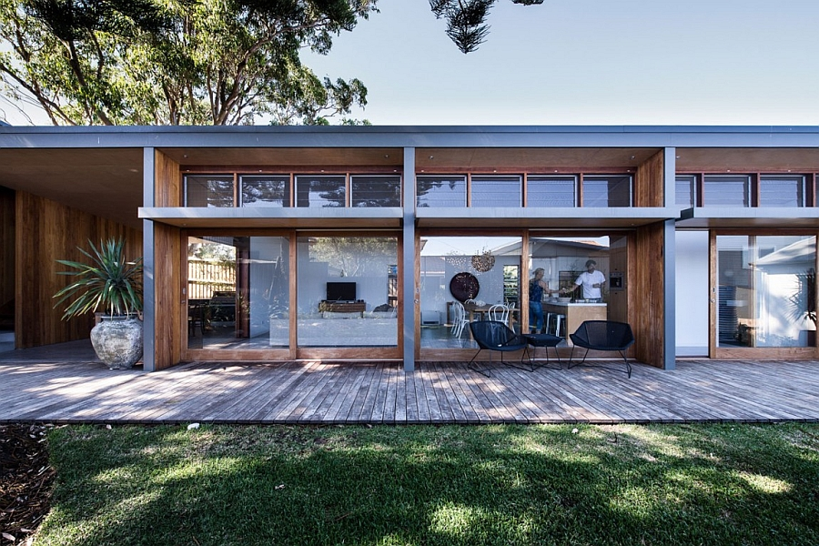 Small 70s Home In Australia Gets Creative Eco Friendly