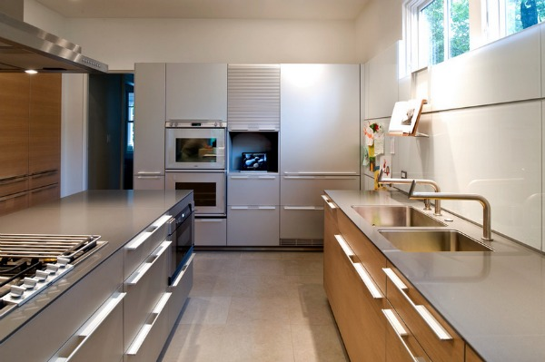 Nice Stainless Steel Kitchen Design