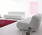 Nuvolone Sofa in contemporary white