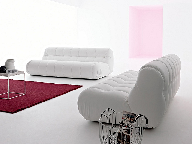 Nuvolone in contemporary white Stylish Nuvolone Sofa From Mimo Brings Together Comfort And Class!