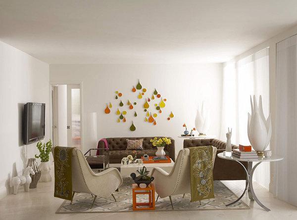 Palm Beach living room by Jonathan Adler
