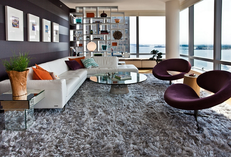 View In Gallery Planter Coffee Table Steals The Show This Lavish New York Living Room