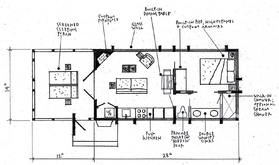 Popular alternative floorplan