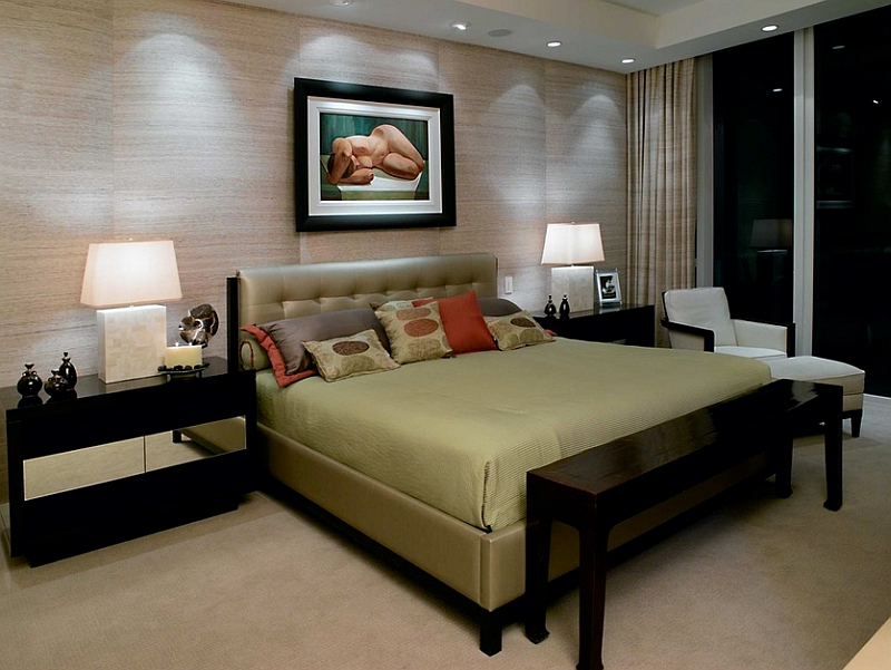 Recessed Lighting Idea for the Asian bedroom