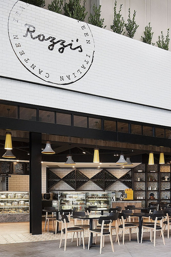 Rozzi's Italian Canteen by Mim Design in Melbourne, Australia