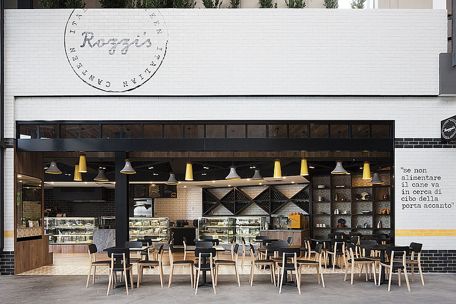 Rozzi's Italian Canteen by Mim Design in Melbourne