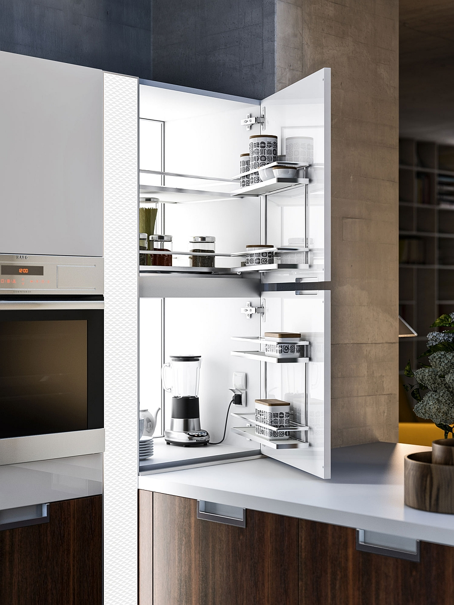 Savvy design solutions of the contemporary kitchen