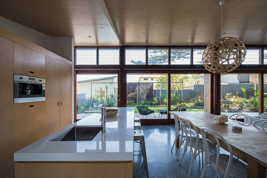 Small 70s home in australia gets creative eco friendly for Kitchen designs newcastle nsw