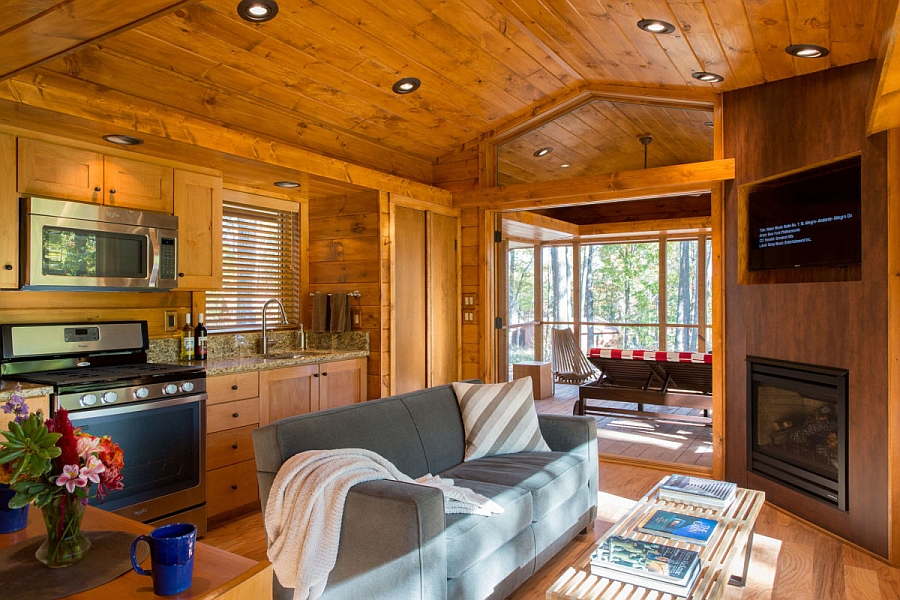 Stupendous Escape Compact Mobile Home Is Aesthetic And Eco Conscious Largest Home Design Picture Inspirations Pitcheantrous