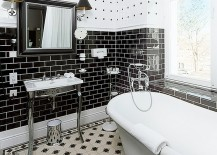 Black And White Bathrooms: An Elegant And Timeless Trend