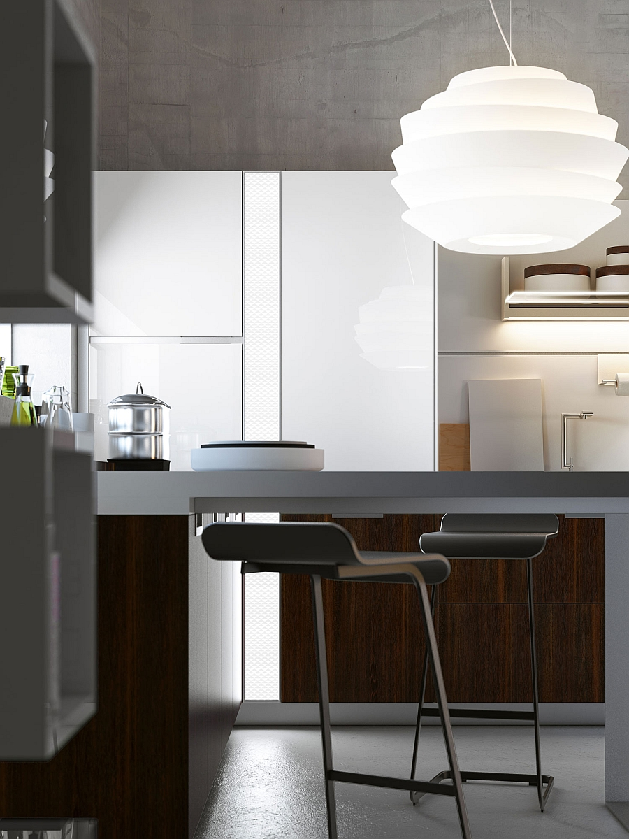 Smart lighting in the kitchen