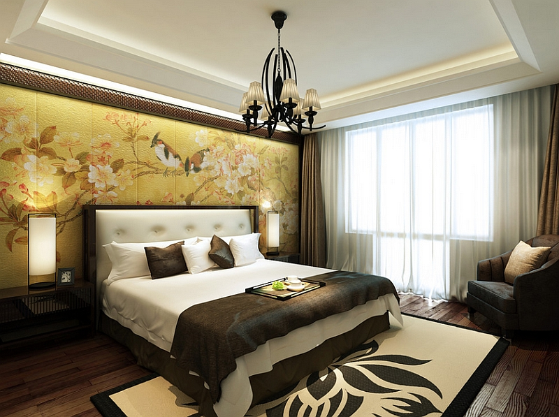 Beau View In Gallery Sophisticated And Authentic Asian Themed Bedroom