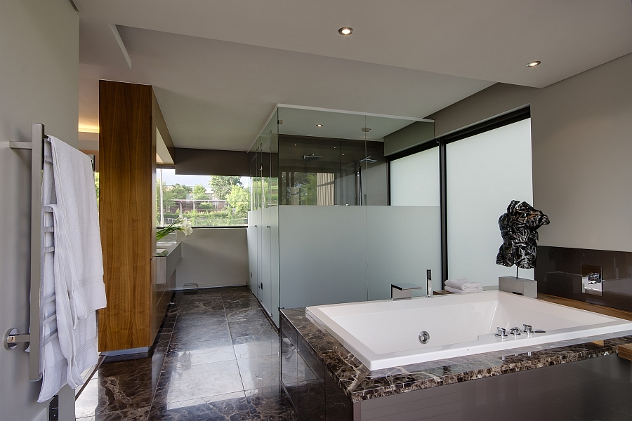 Spa-like bath at home