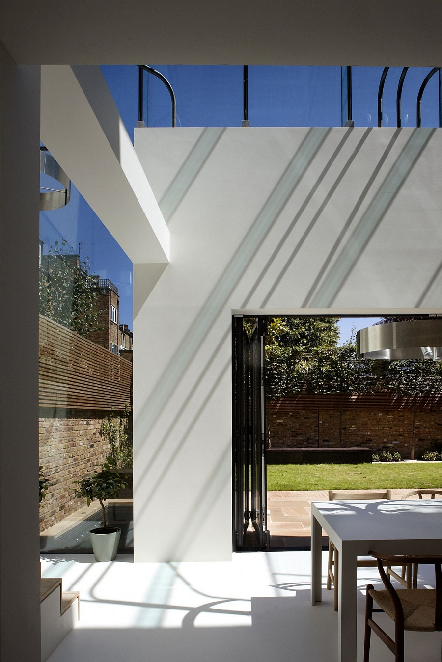 classic victorian house in london gets a grand and glassy extension