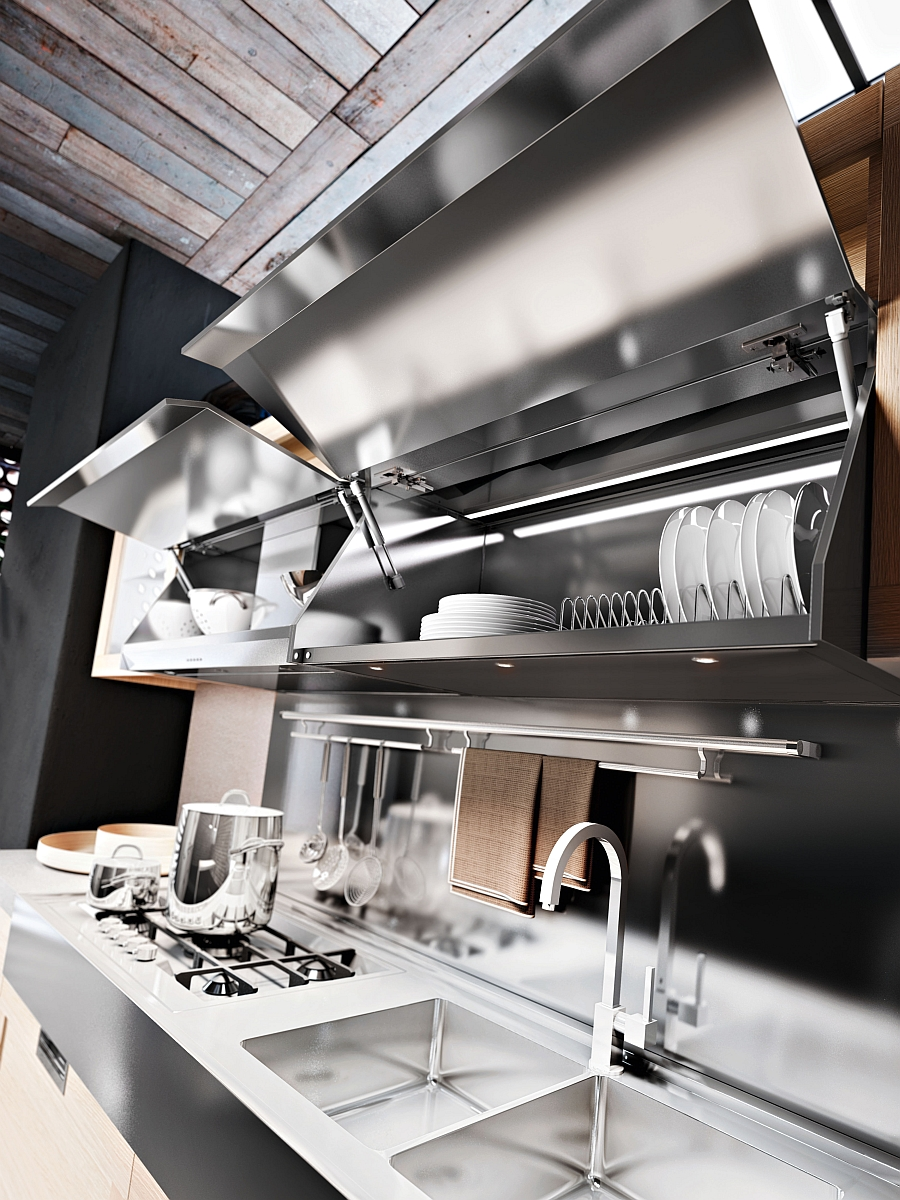 Storage space in the kitchen