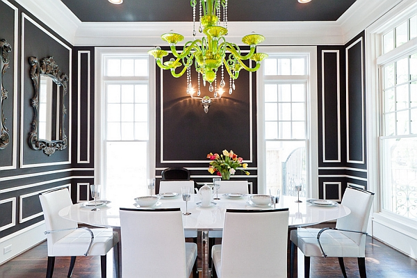 Charming View In Gallery Stunning Contemporary Dining Room