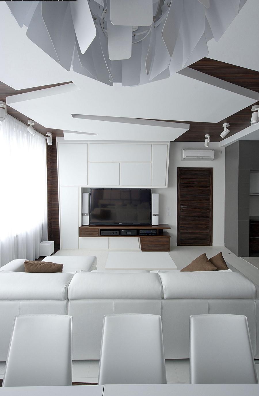 Stunning minimalist apartment by Vladimir Malashonok