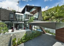 Posh Private Residence In Singapore Oozes Contemporary Class!