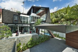 Stylish Contemporary House in Singapore