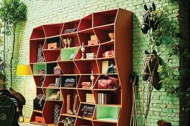ZigZag Bookshelf By Henrique Steyer Is Snazzy But Trendy