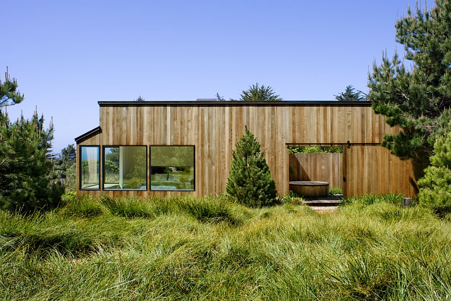 Stylish house that is both rustic and modern