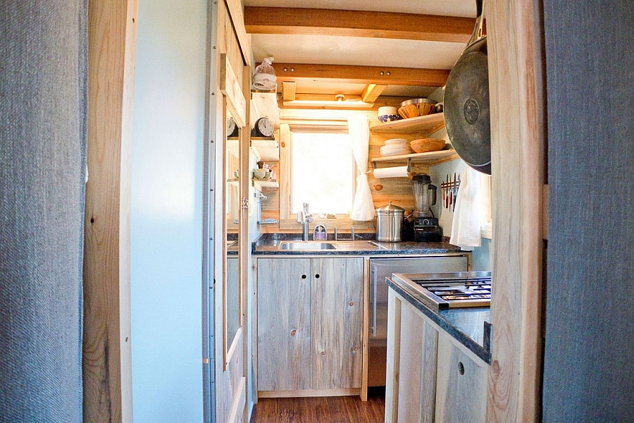 Tiny kitchen for small, portable house
