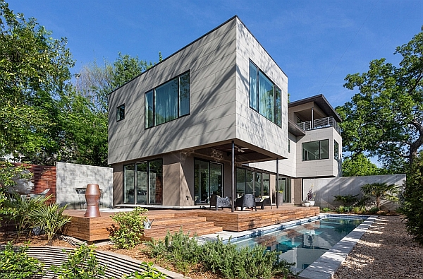 Efficient design and artistic elegance shape this fabulous for Contemporary homes atlanta