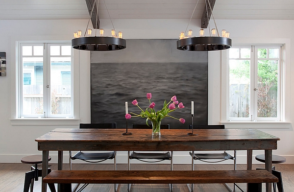 Turn a simple table into focal point of the room