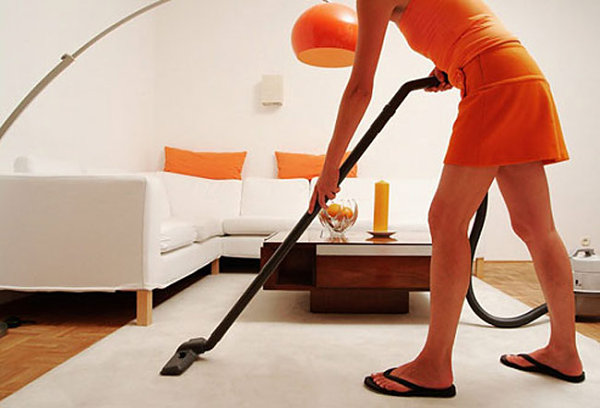 Vacuuming in style