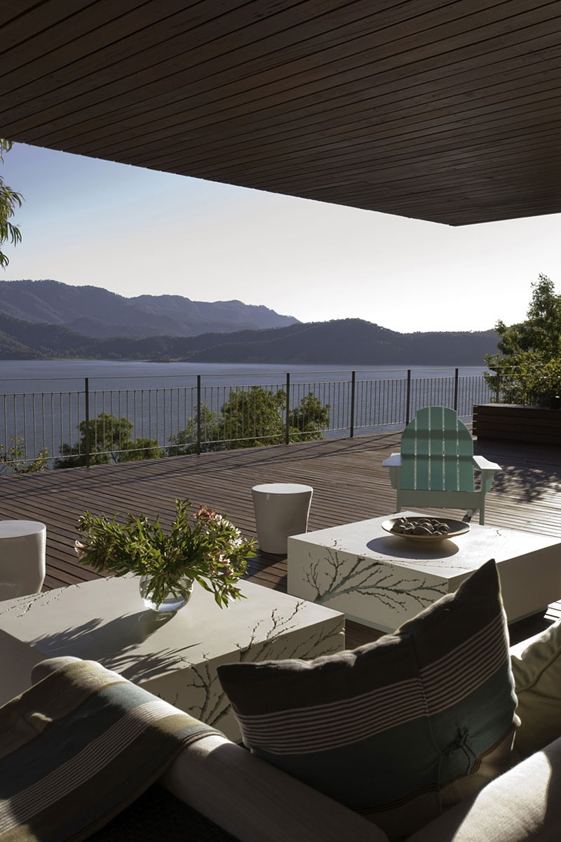 View of lake at Valle of Bravo from Casa L