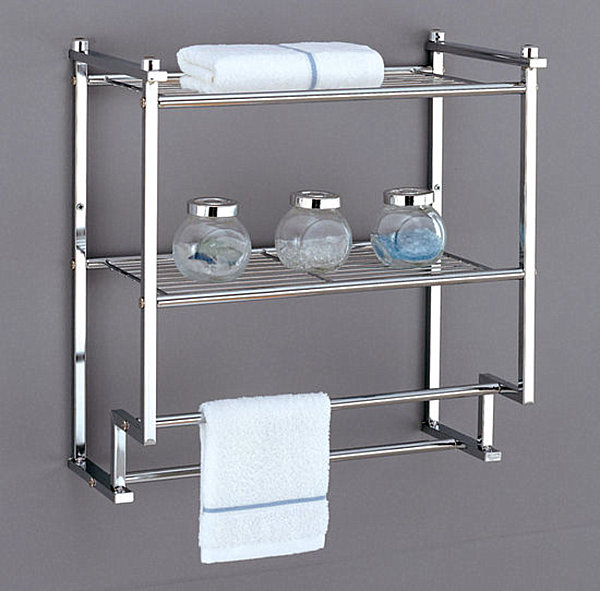 Wall-mounted bathroom storage unit