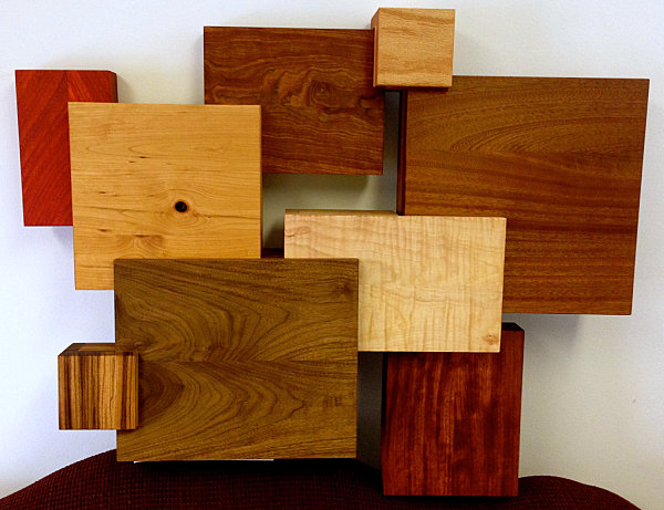 Wooden wall art from Etsy shop Shawn's Woodworking