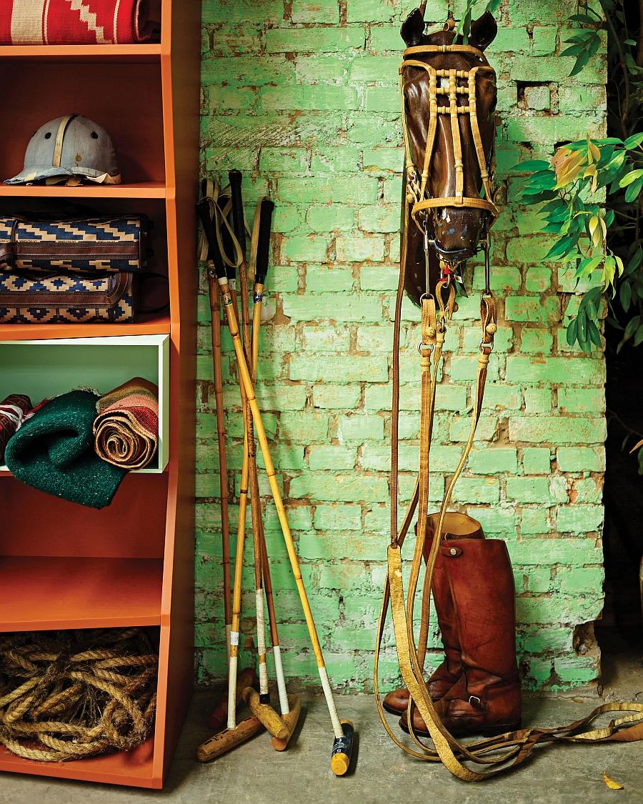ZigZag shelf in Polo culture setting