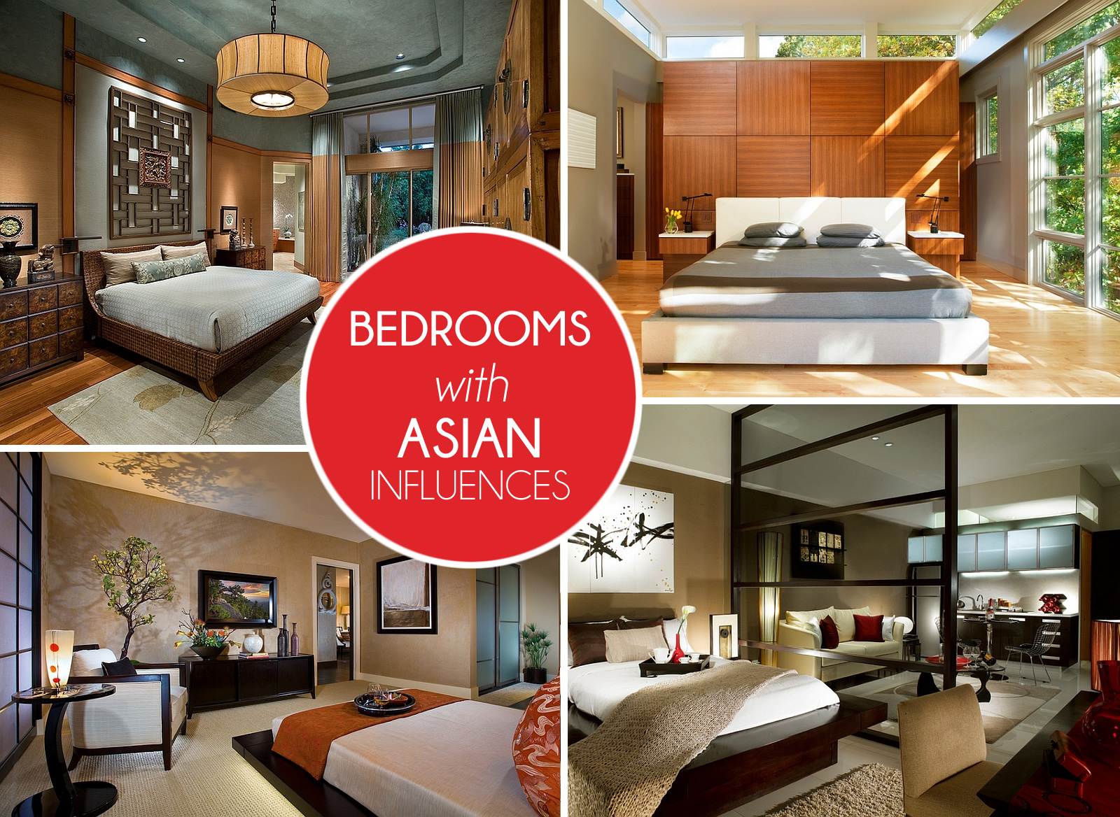 Bon View In Gallery Asian Bedrooms Design Ideas