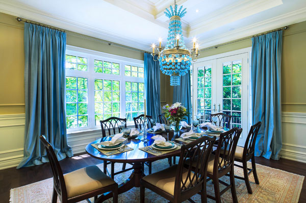 Curtains Ideas blue velvet curtains : A Bold Statement With Velvet Drapes & Curtains