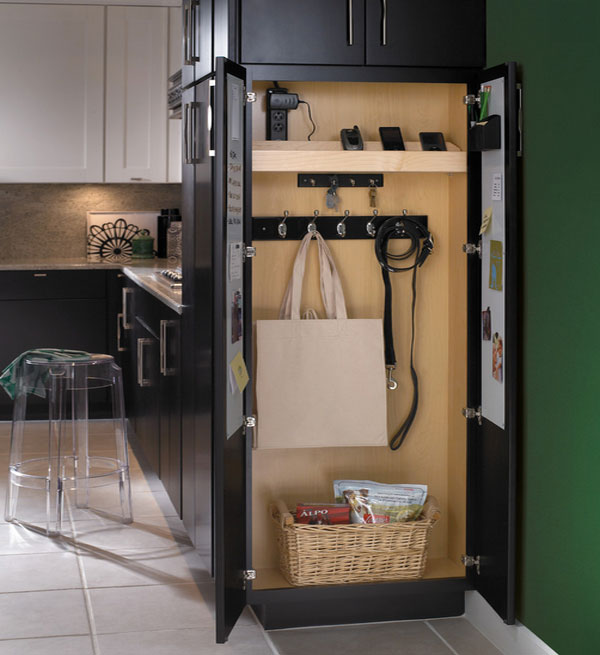black-kitchen-organization-stations-for-phones