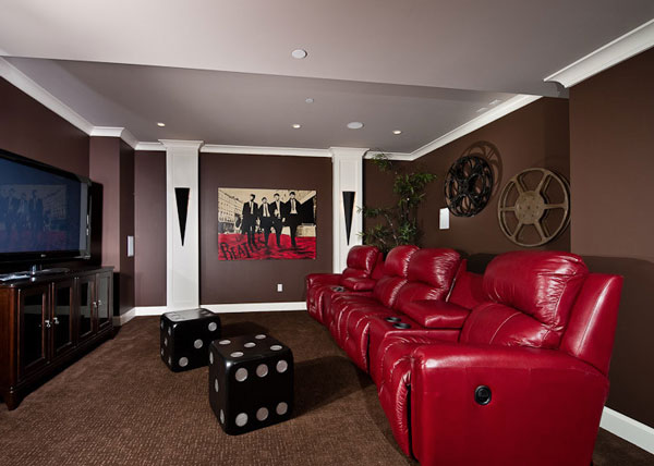 Dice cube furnishings and game rooms for a fun filled home for Big game room