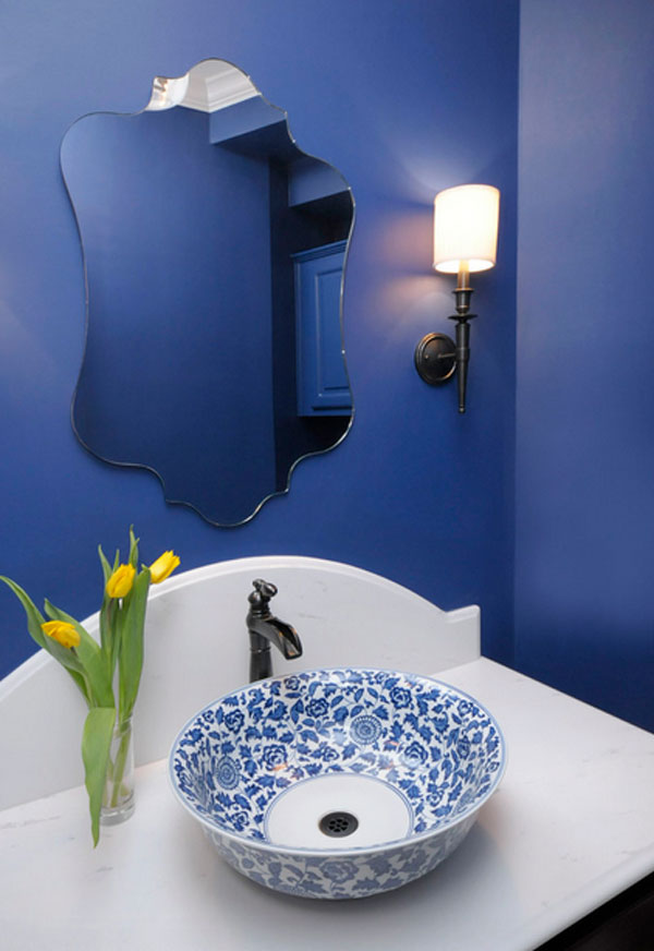 porcelain bathroom sink idea