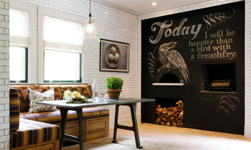 Typography Wall Art To Fashion Inspirational Interiors!