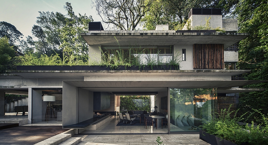 house maza by chk arquitectura Lavish Holiday House Cloaked In Green Promises A Tranquil Escape
