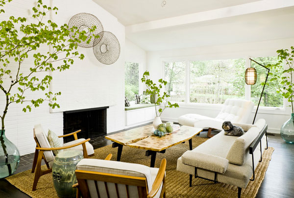 jessica heigerson interior design Hanging Plants and Soil less Vegetation For Green Homes