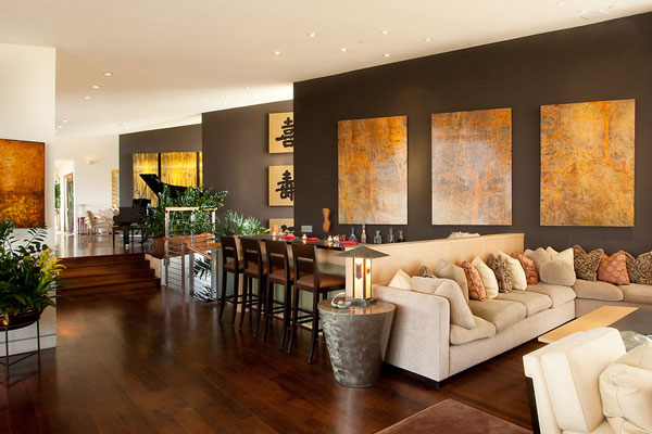 oriental decor for elegant living rooms