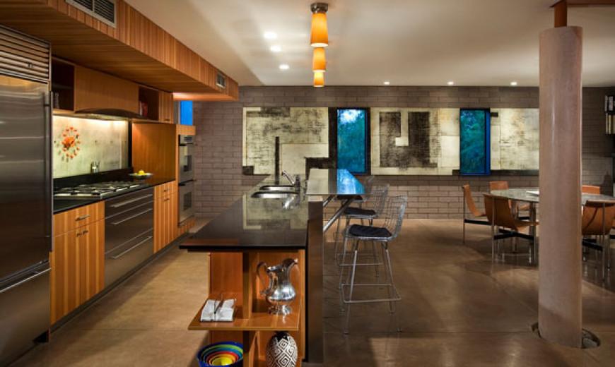 Egyptian Sandstone Repurposed for Elegant Home Flooring