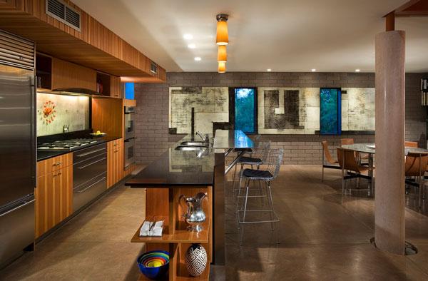 Egyptian sandstone repurposed for elegant home flooring for Kitchen designs egypt