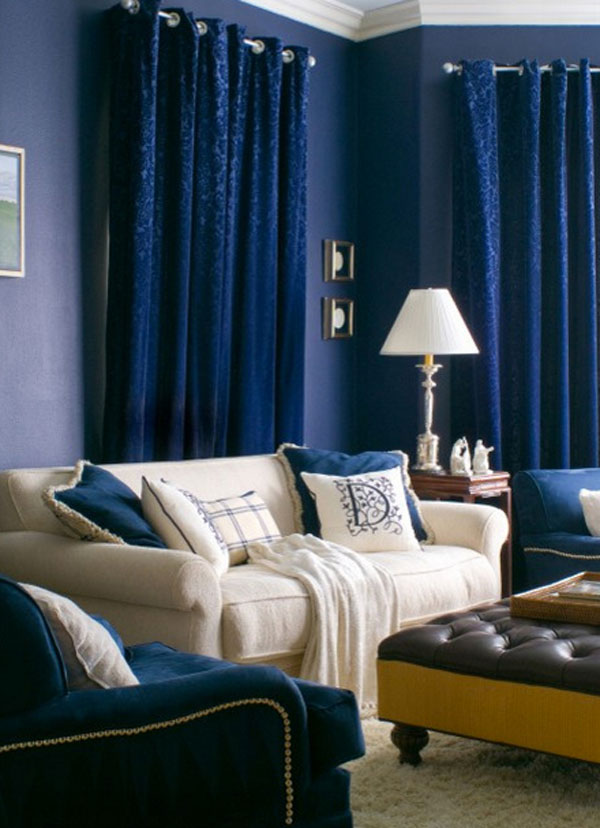 A Bold Statement With Velvet Drapes & Curtains