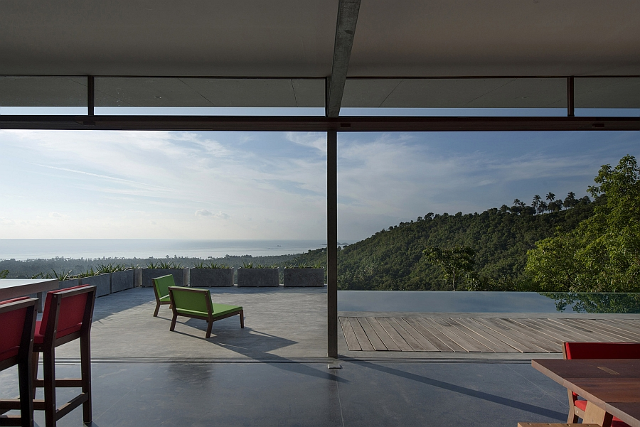 A getaway that promises solitude and tranquility