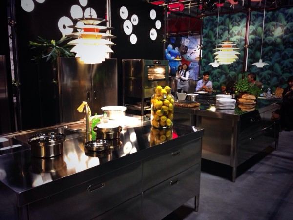 Alpes-Inox Kitchens - iSaloni 2014