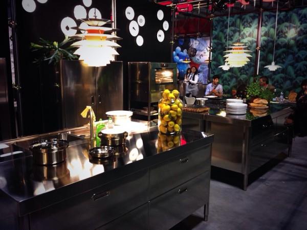 Alpes-Inox Kitchens - iSaloni 2014